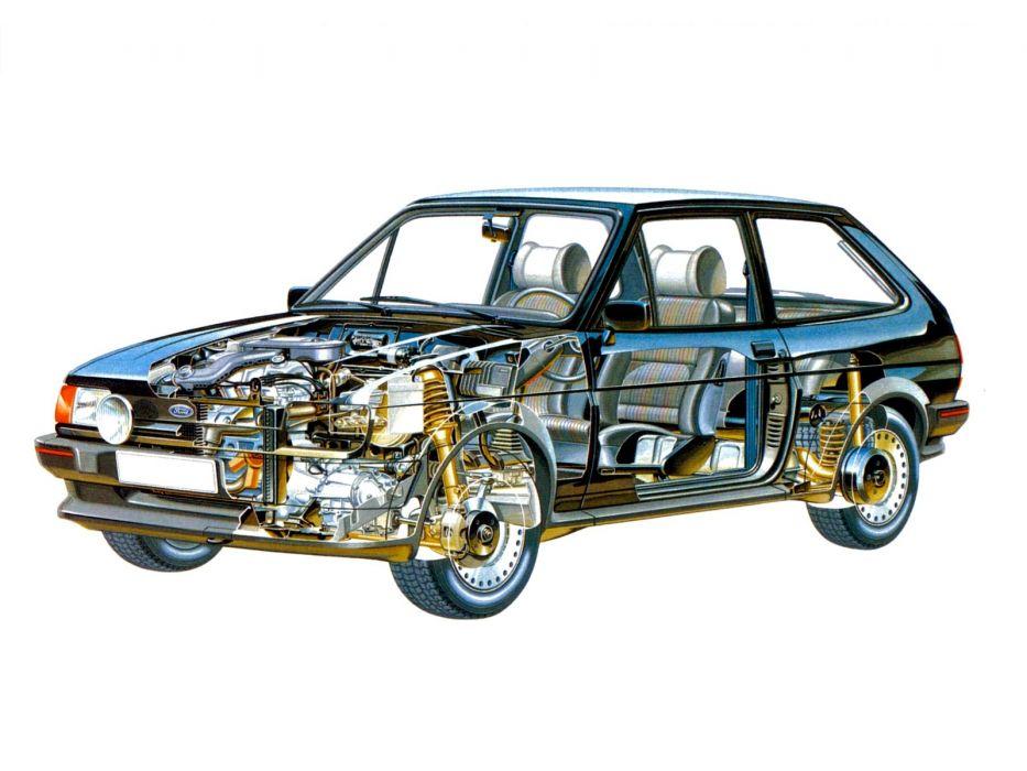 Ford Fiesta XR2 cars technical wallpaper