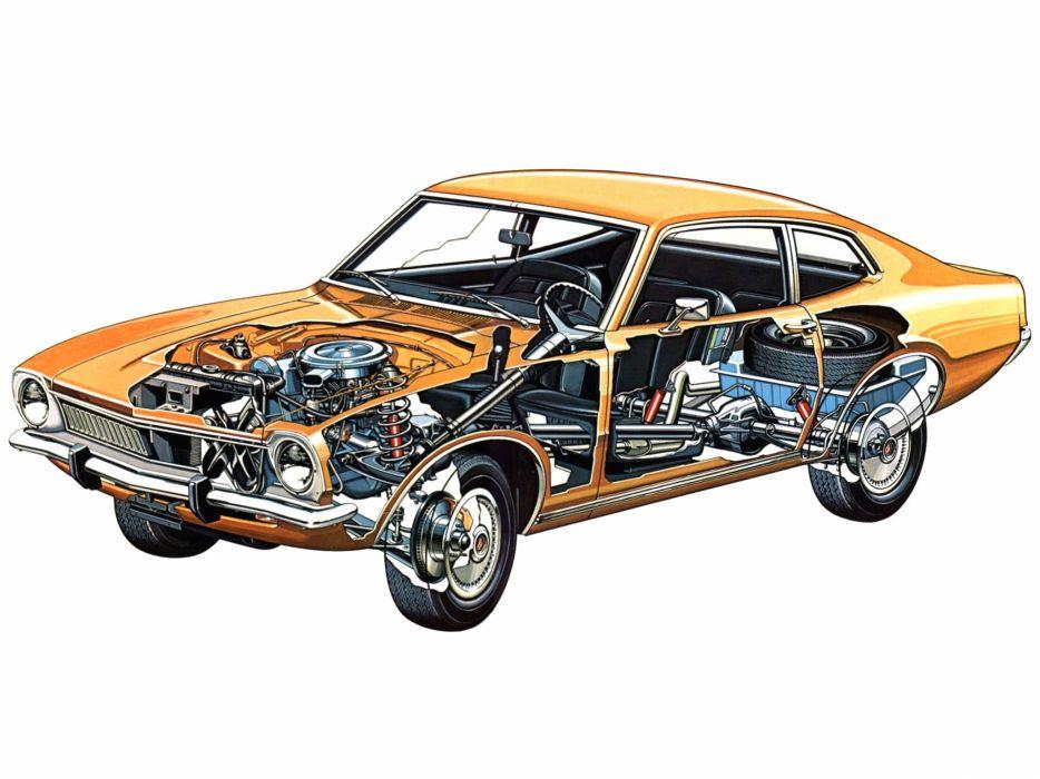 Ford Maverick cars technical wallpaper