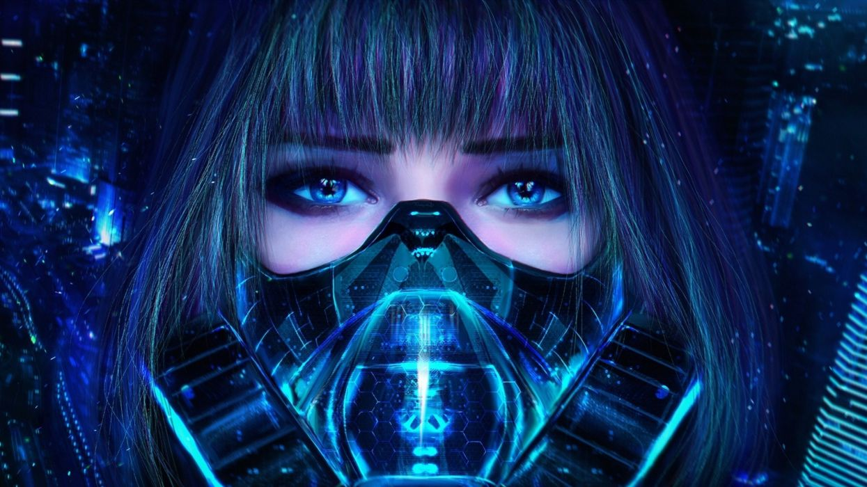 sci-fu futuristic woman woman girl girls warrior art artwork wallpaper