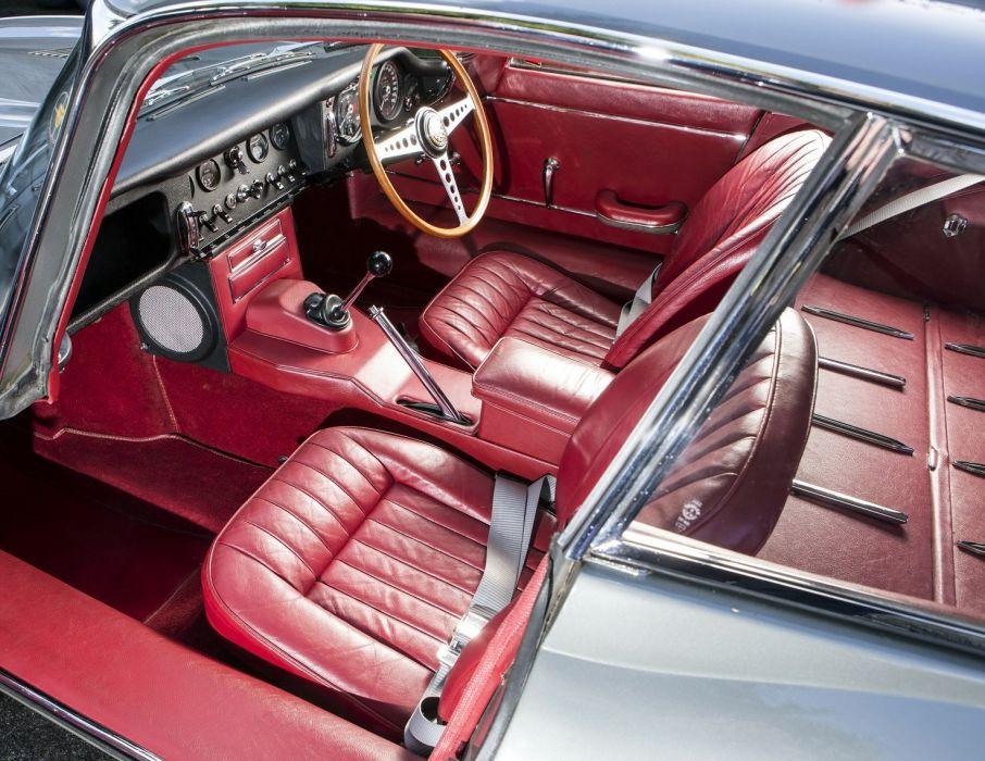 Jaguar E-Type Fixed Head Coupe cars UK-spec Series I 1961 wallpaper