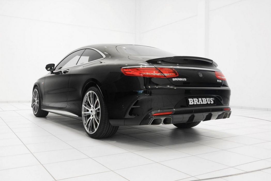 Brabus 850 S63 Coupe Mercedes cars black tuning wallpaper
