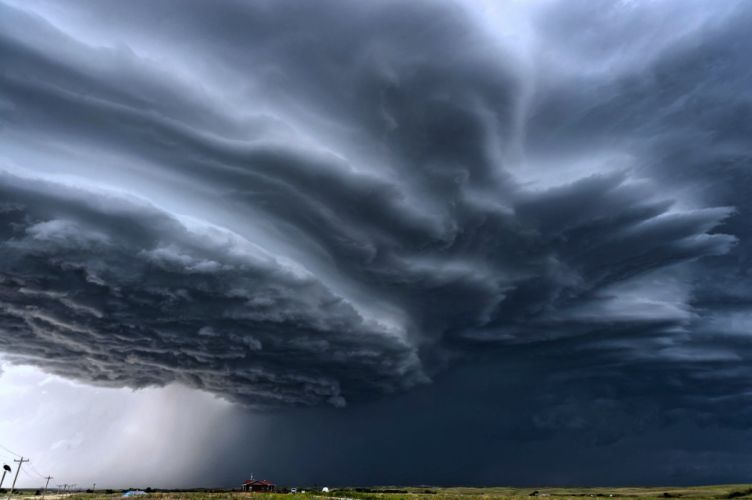 clouds Earth landscapes nature Rain sky storms thunders USA wallpaper