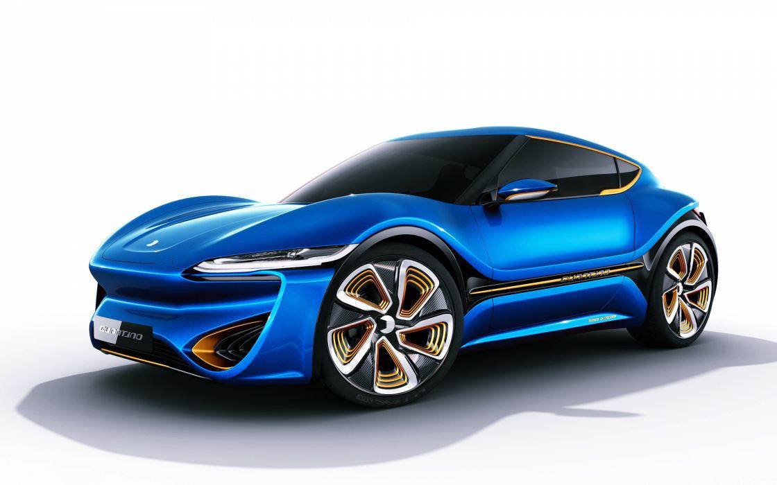 2016 nanoflowcell quantino wide blue cars speed motors wallpaper