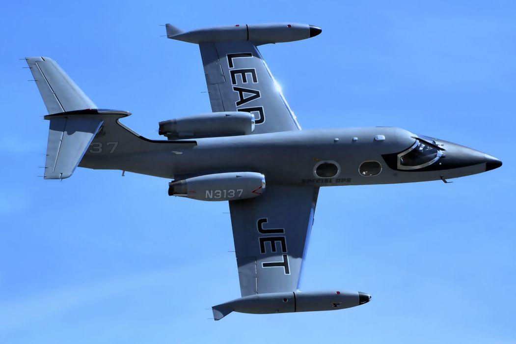 learjet lead JET N3137 fighter aircrafts wars wallpaper