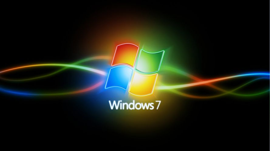 Apple background Colorful colors logo wallpapers Abstract windows 7 seven wallpaper