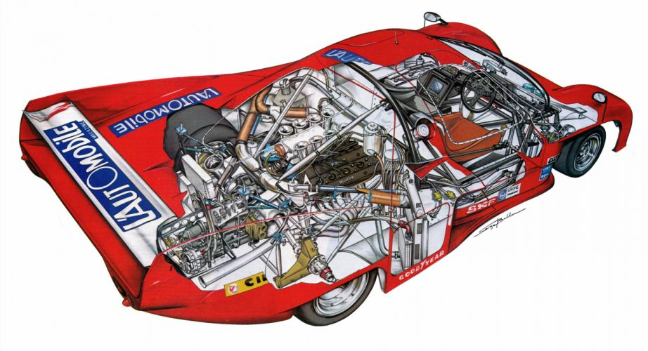 Rondeau M379C racecars cars technical wallpaper
