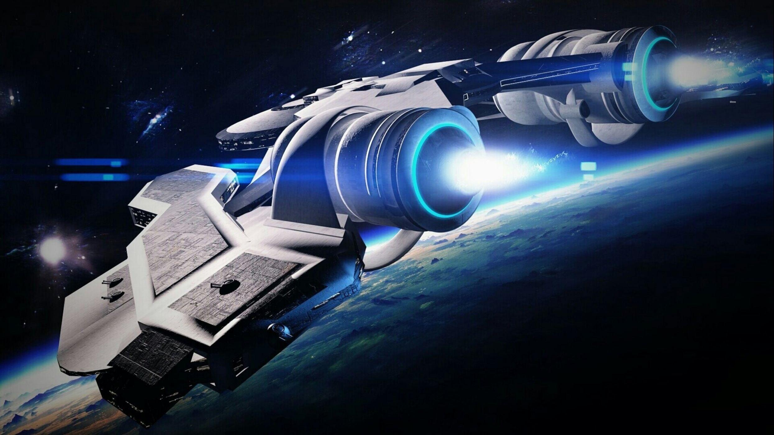 future rocket ship - HD2489×1400