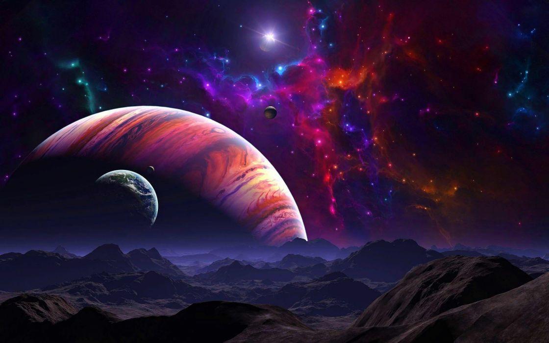 sci fi planetscape