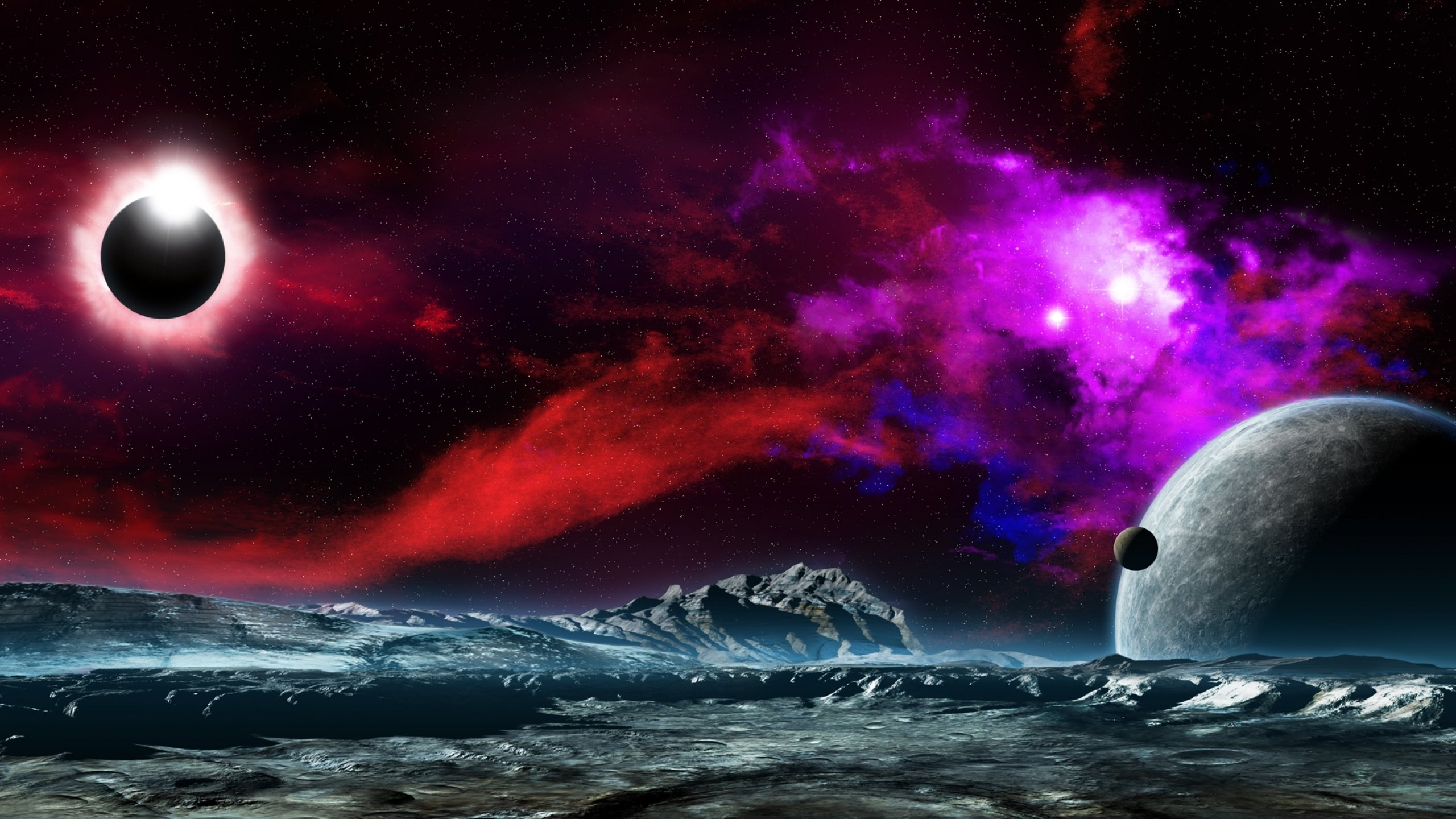 PlanetScapes Backgrounds Red - Pics about space