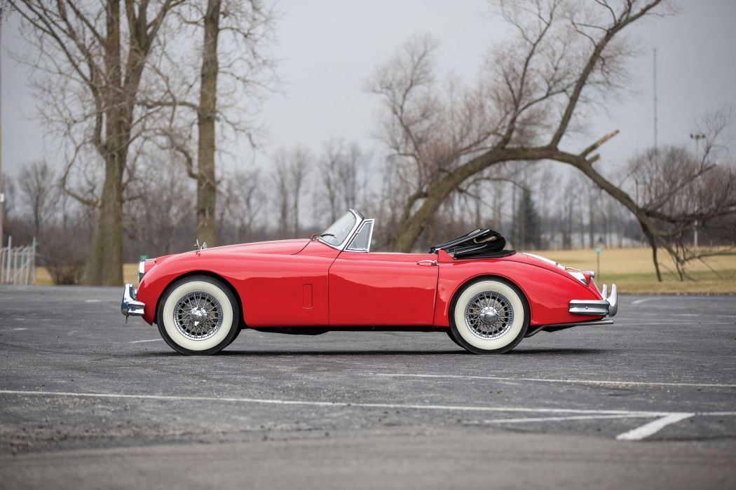 Jaguar XK150 Drophead Coupe cars convertible classic 1958 wallpaper