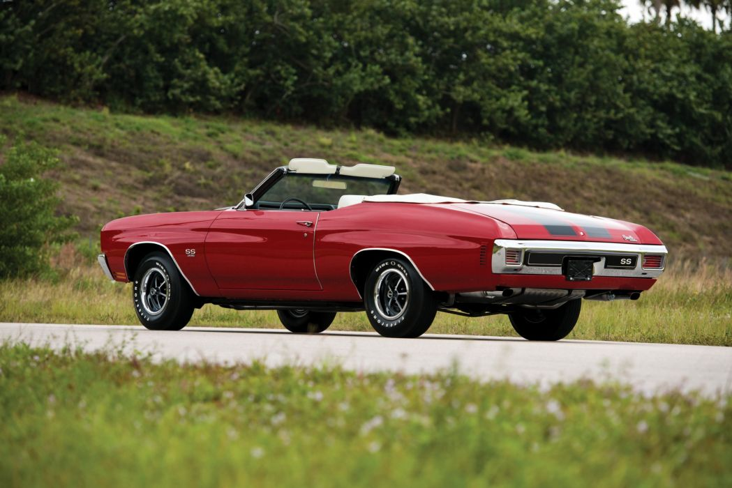 1970 Chevrolet Chevelle SS 396 Convertible cars classic wallpaper