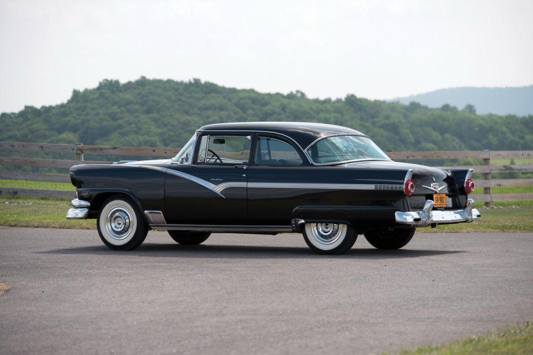 1956 Ford Fairlane Club Sedan cars classic wallpaper