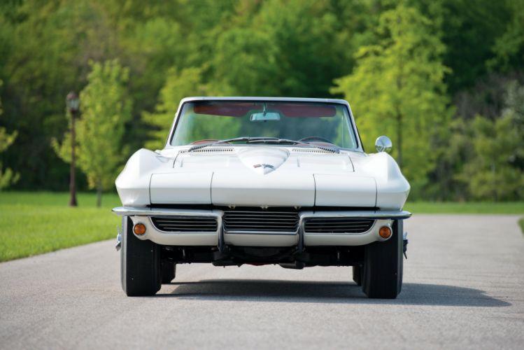 1964 c2 chevy Corvette Sting Ray Convertible classic cars wallpaper
