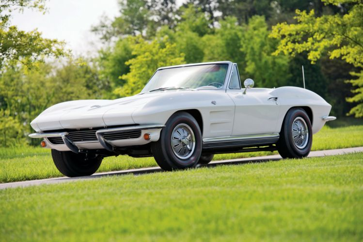 1964 c2 chevy Corvette Sting Ray Convertible classic cars wallpaper