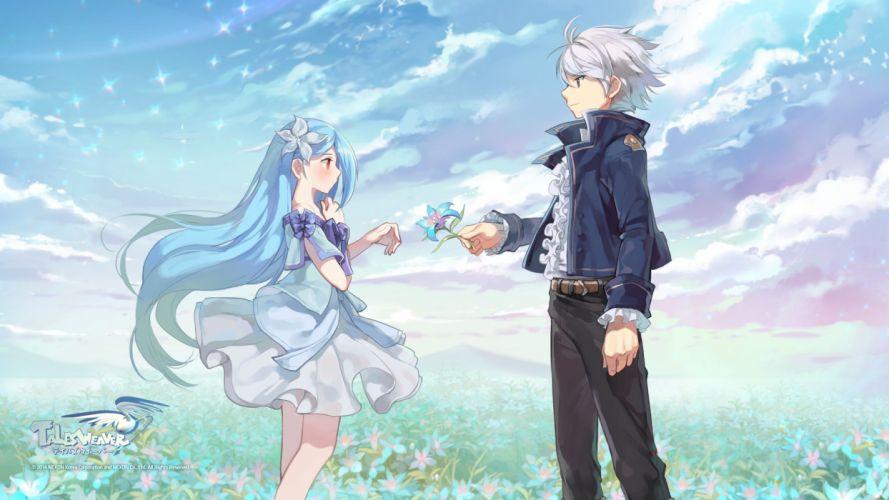 TALES WEAVER online anime mmo rpg adventure 1talesw wallpaper