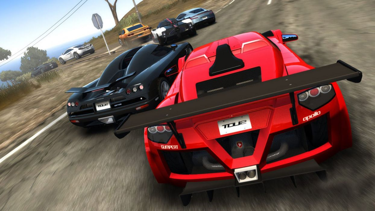 TEST DRIVE UNLIMITED arcade race racing action 1tdu wallpaper