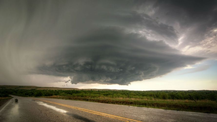 tornado storm weather disaster nature sky clouds landscape wallpaper