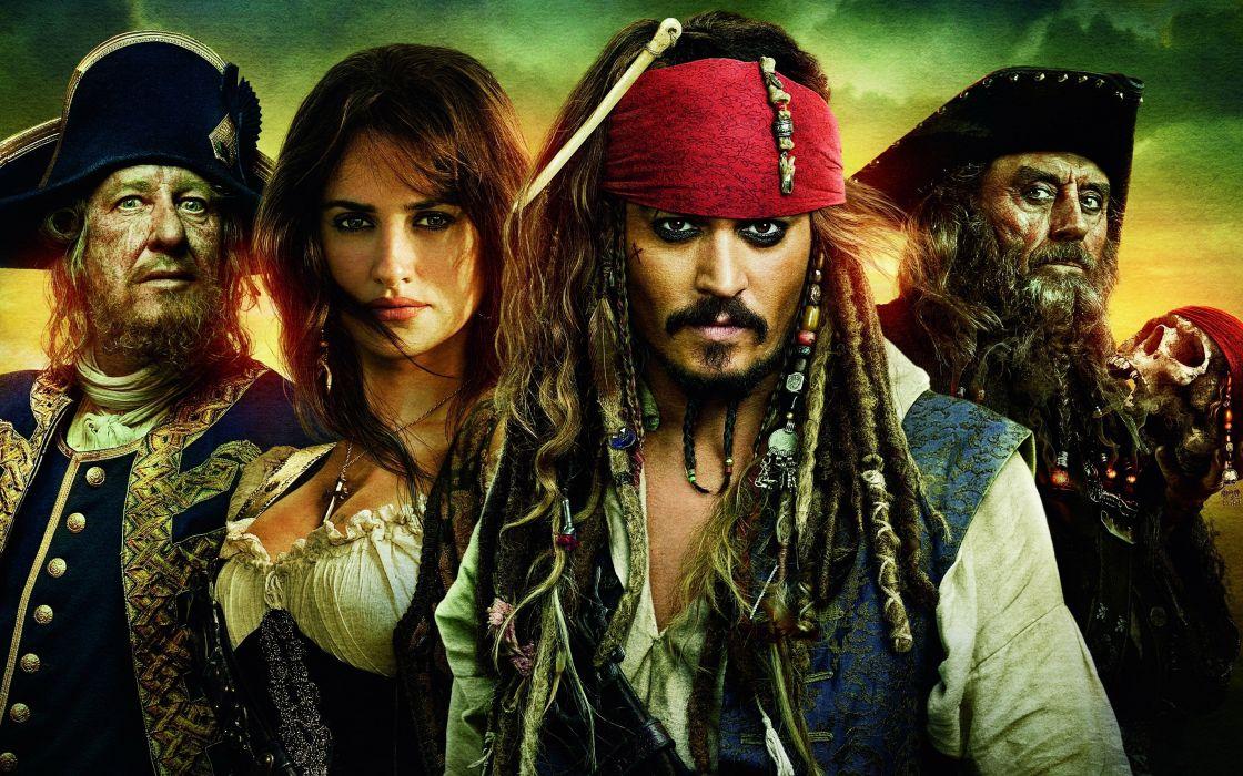 piratas del caribe pelicula aventuras accion wallpaper