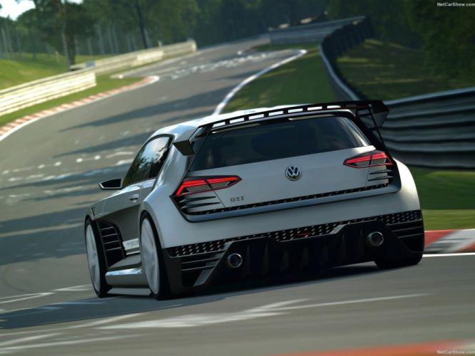 Volkswagen GTI Supersport Vision Gran Turismo Concept cars videogames wallpaper