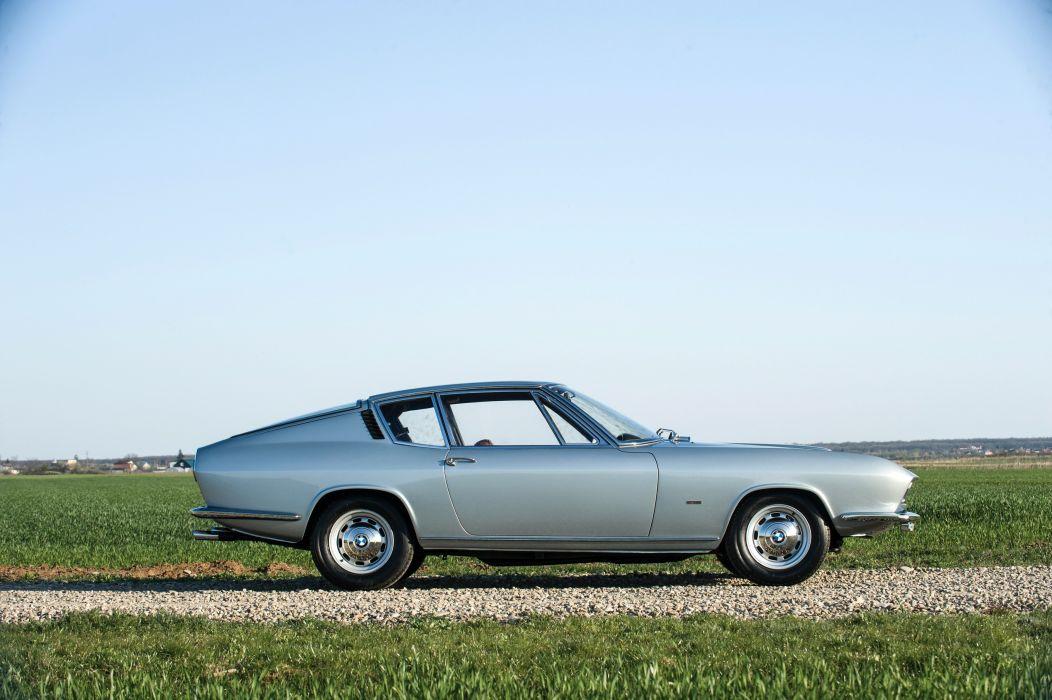 BMW 3000 V8 Fastback Frua coupe classic 1967 cars wallpaper