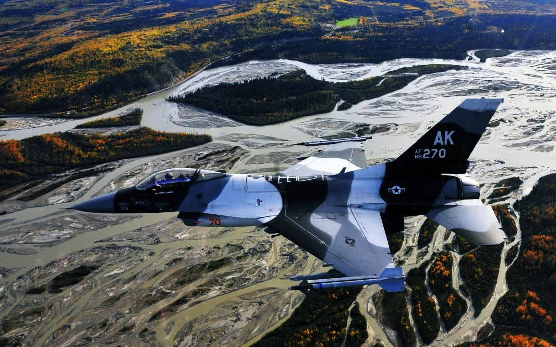 aircrafts Fighter landscapes rivers forest AK Wars 270 wallpaper