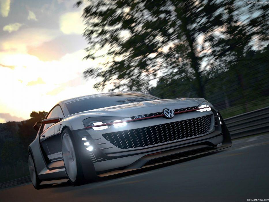 cars Concept Gran gti supersport Turismo videogames vision volkswagen wallpaper