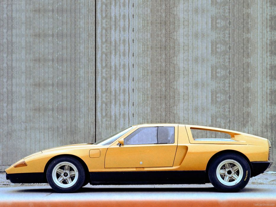 Mercedes Benz C 111 II Concept cars 1970 wallpaper