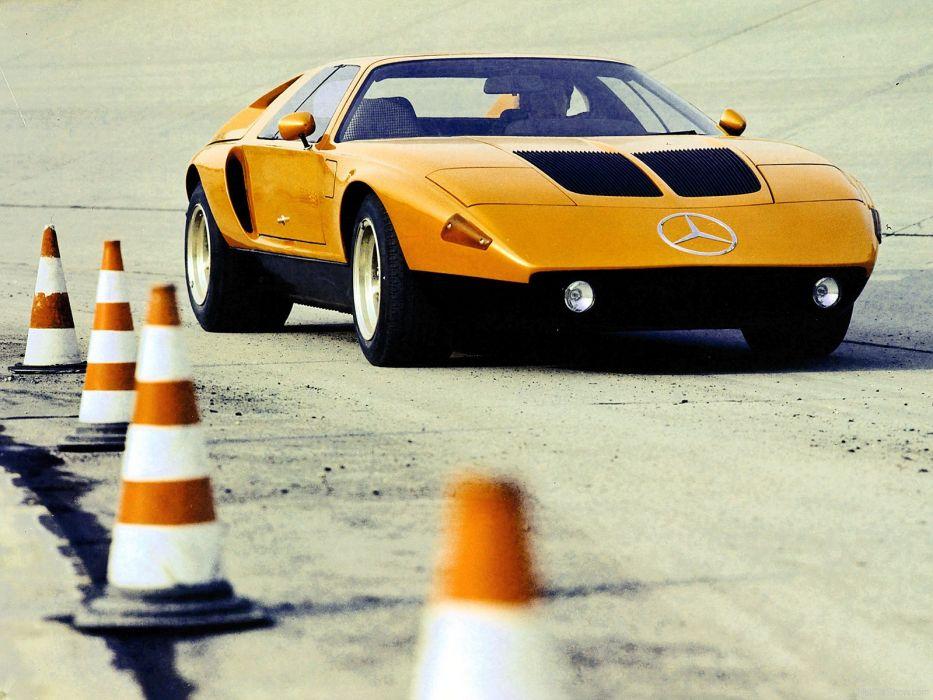 Mercedes Benz C 111 II Concept cars 1970 wallpaper