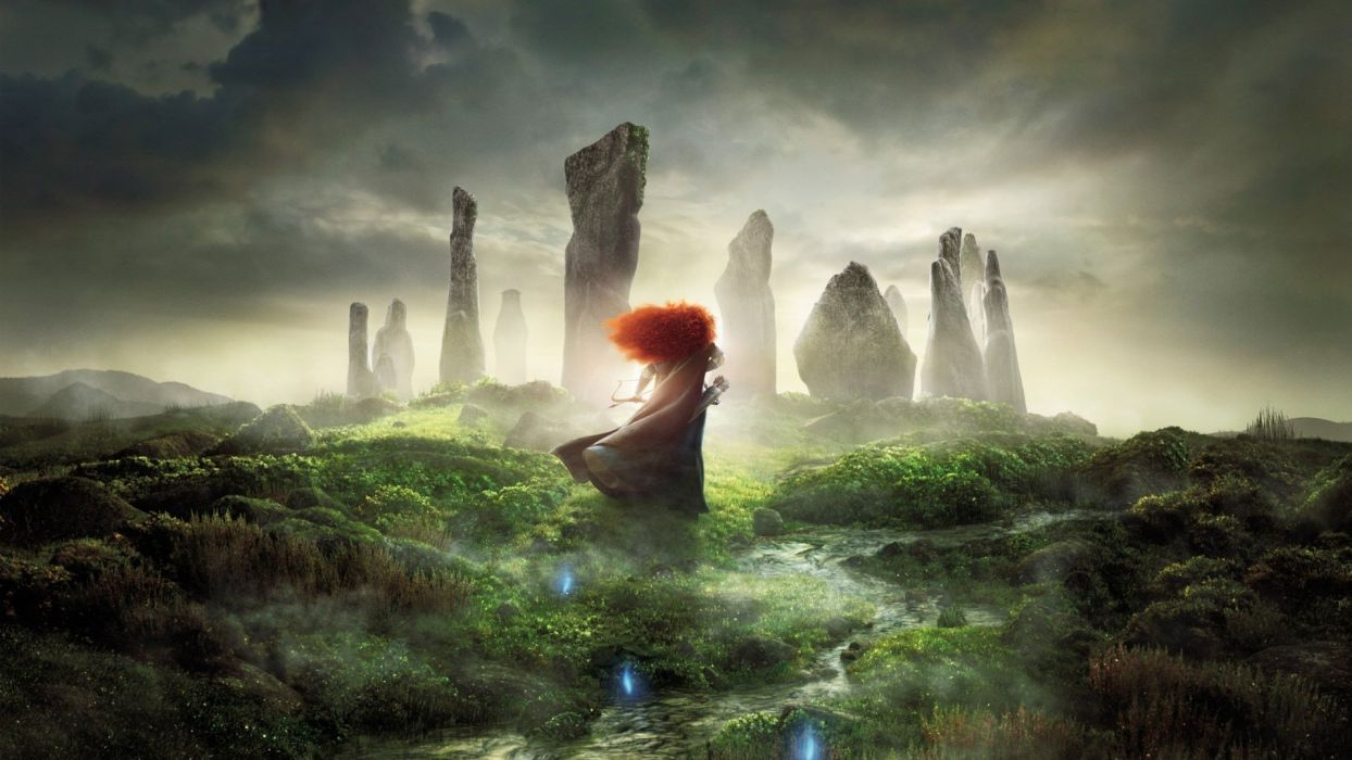 Action Adventure Animation Brave wallpaper