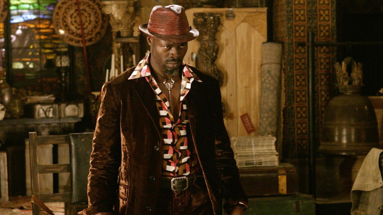 Constantine Fantasy Horror Djimon Hounsou Keanu Reeves wallpaper