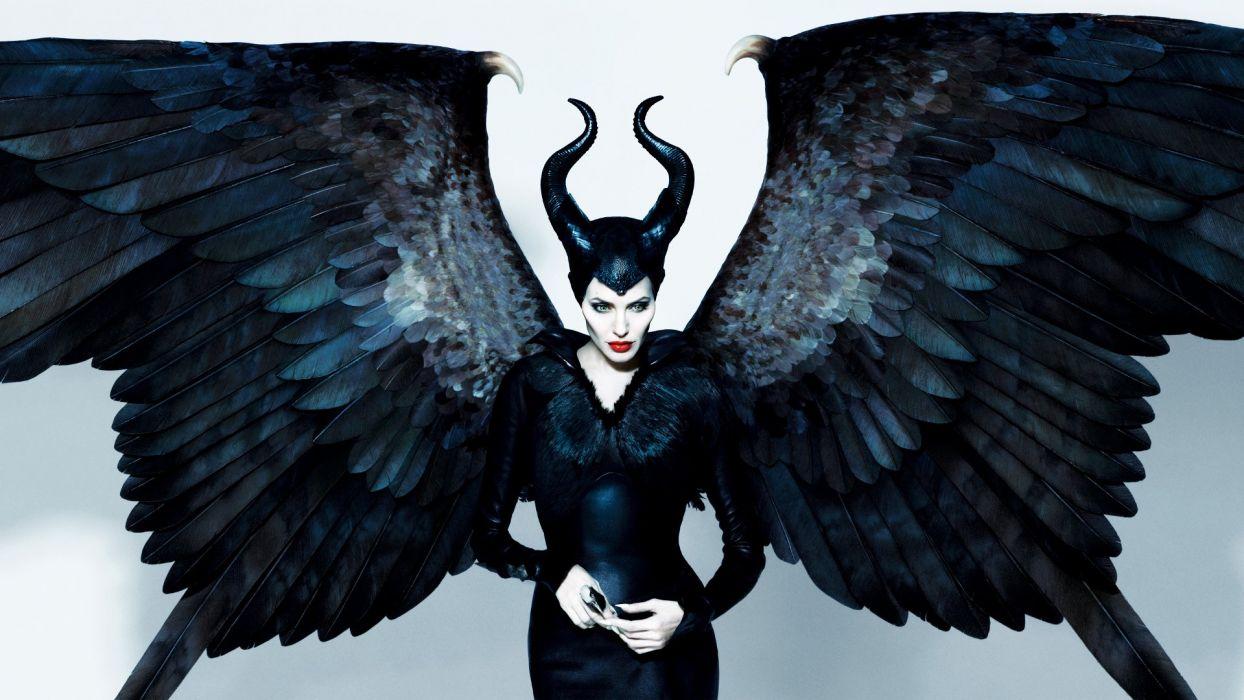 Maleficent Angelina Jolie Action Adventure Drama wallpaper