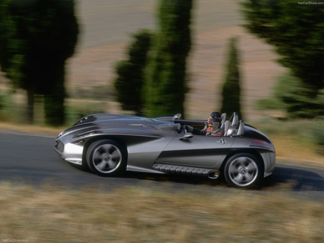 Mercedes Benz F400 Carving Concept cars 2001 wallpaper