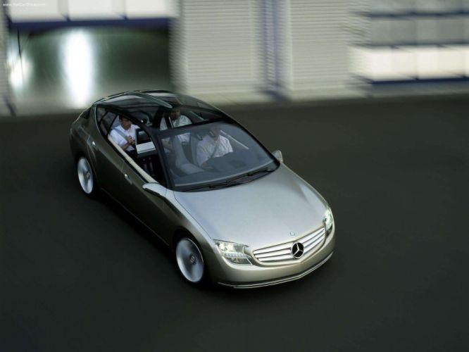 Mercedes Benz F500 Mind Concept cars 2003 wallpaper