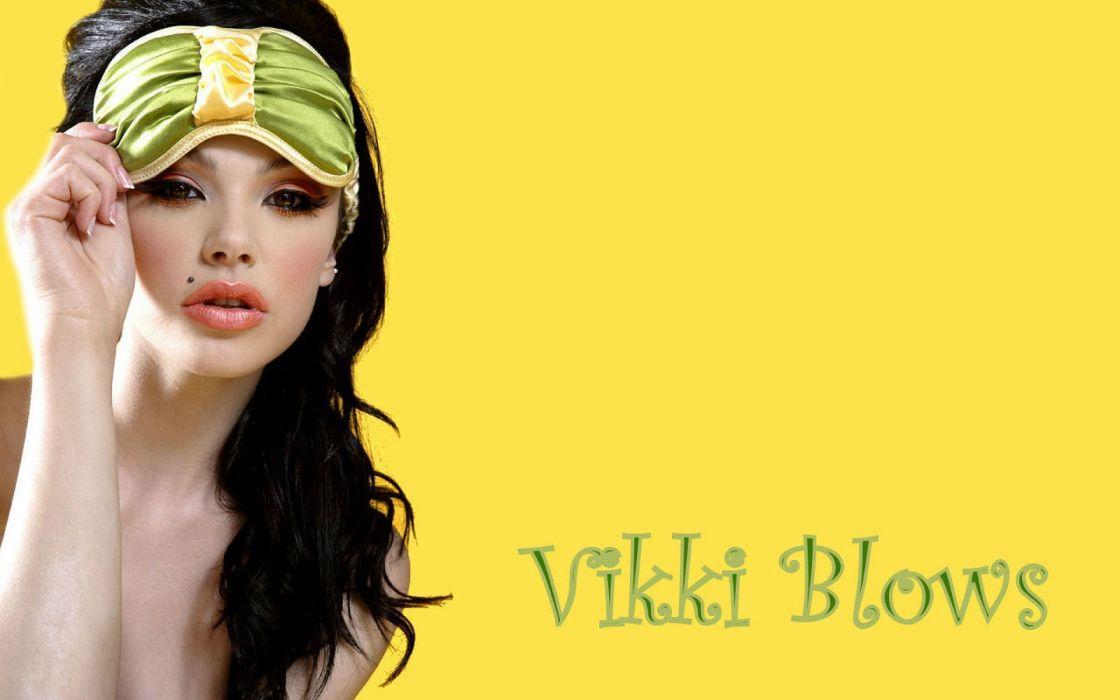 Vikki Blows alternative model adult sexy babe models 1vikki actress wallpaper