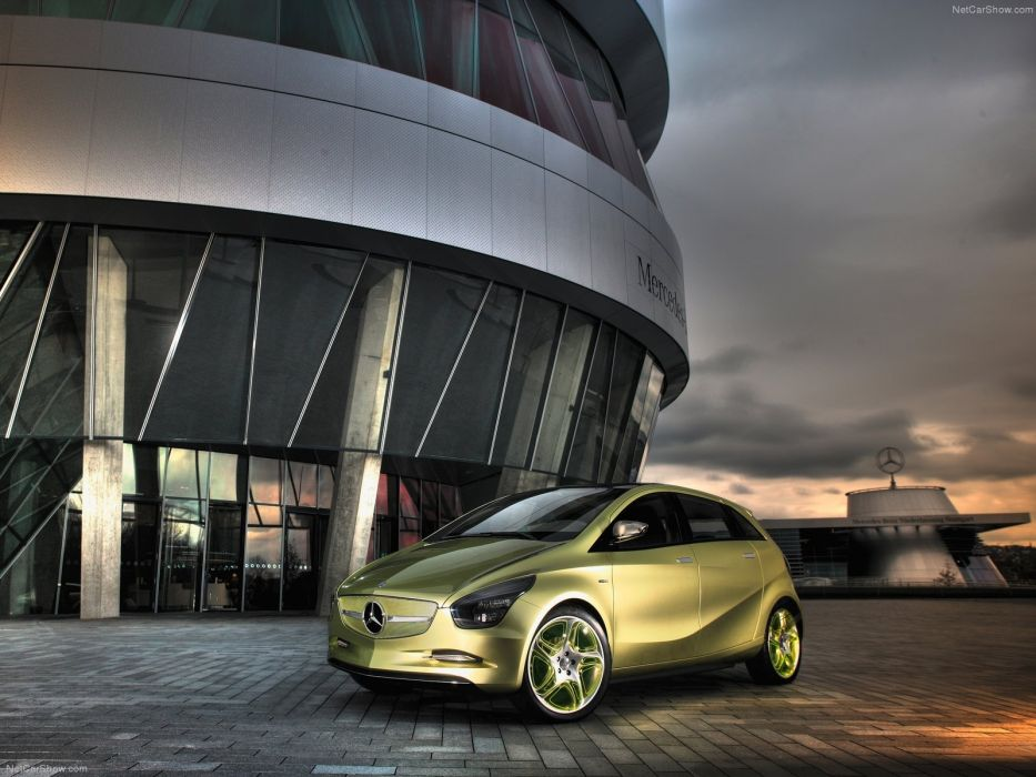 Mercedes Benz BlueZero Concept cars 2009 wallpaper