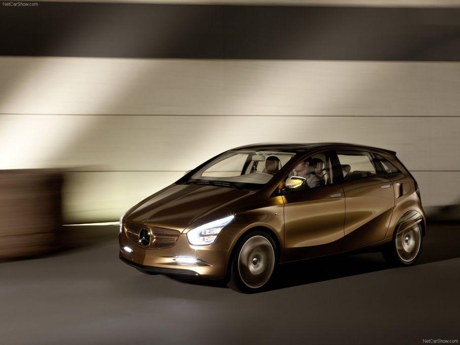 Mercedes Benz BlueZero E-Cell Plus Concept cars 2009 wallpaper