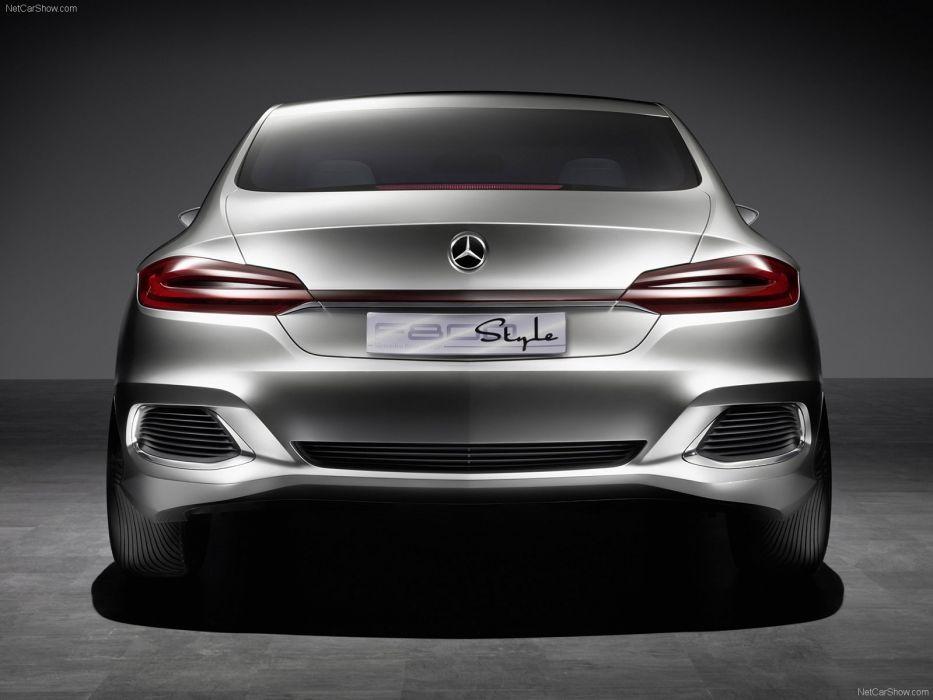 Concept f800 Mercedes-Benz style 2010 wallpaper