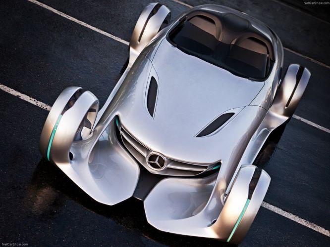 Mercedes Benz Silver Arrow Concept cars 2011 wallpaper