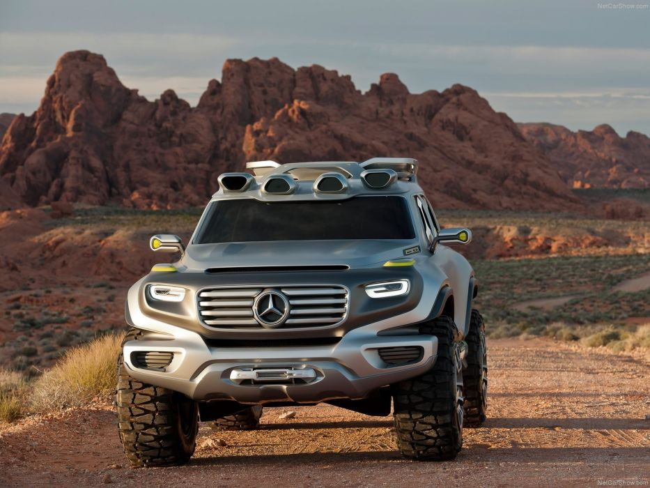 Mercedes Benz Ener-G-Force Concept cars 2012 suv wallpaper