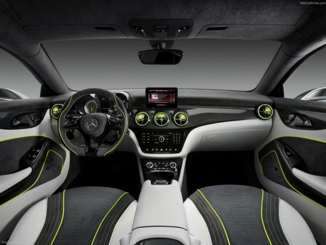 Mercedes Benz Style Coupe Concept cars 2012 wallpaper