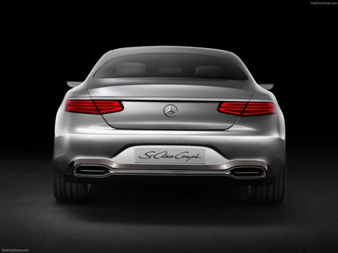Mercedes Benz S-Class Coupe Concept cars 2013 wallpaper