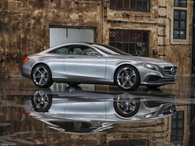 Mercedes Benz S-Class Coupe Concept cars 2013 wallpaper