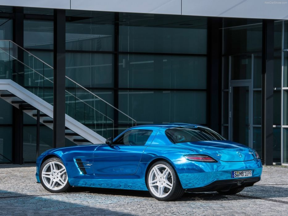 amg benz Coupe drive electric Mercedes motion SLS 2014 wallpaper