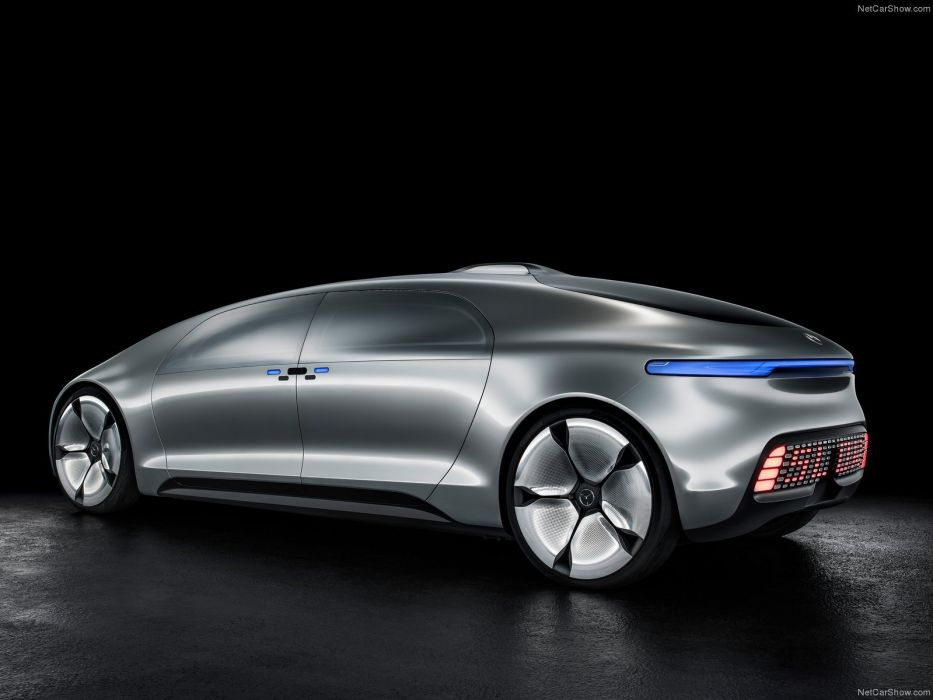 Mercedes F015 Luxury in Motion Concept cars 2015 wallpaper