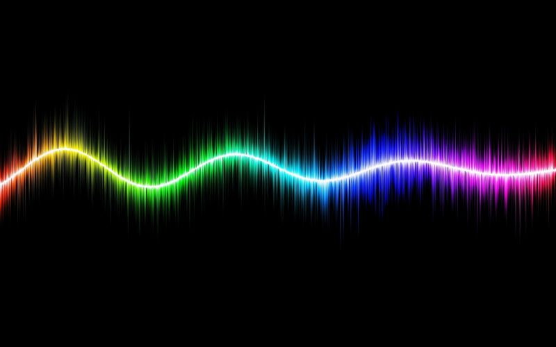 line Abstract art background Colorful colors Geometric Glowing wallpapers Electromagnetic waves wallpaper