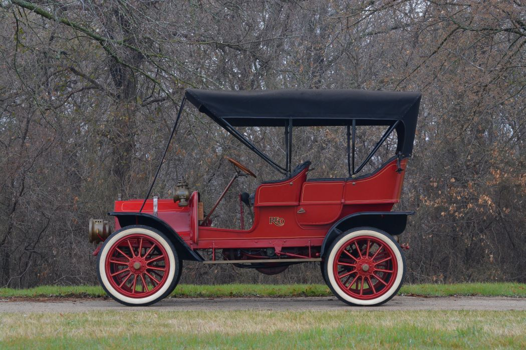 1908 Reo ModelA Touring Classic Old Vintage USA 6000x4000-02 wallpaper