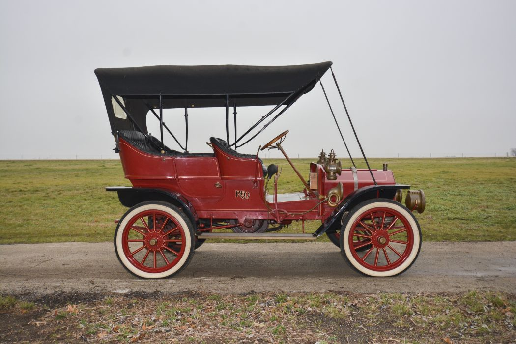 1908 Reo ModelA Touring Classic Old Vintage USA 6000x4000-04 wallpaper