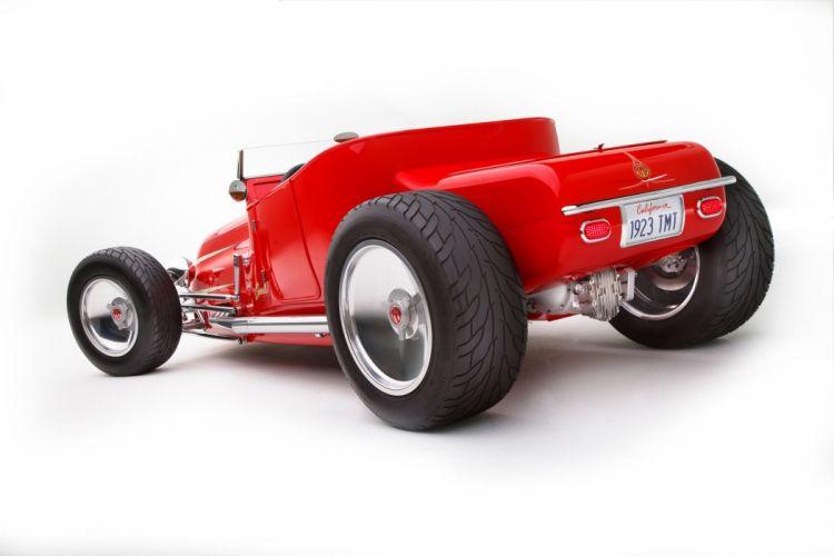 1923 Ford Roadster Hotrod Red HotRod Hot Rod Old School USA 2040x1360-03 wallpaper