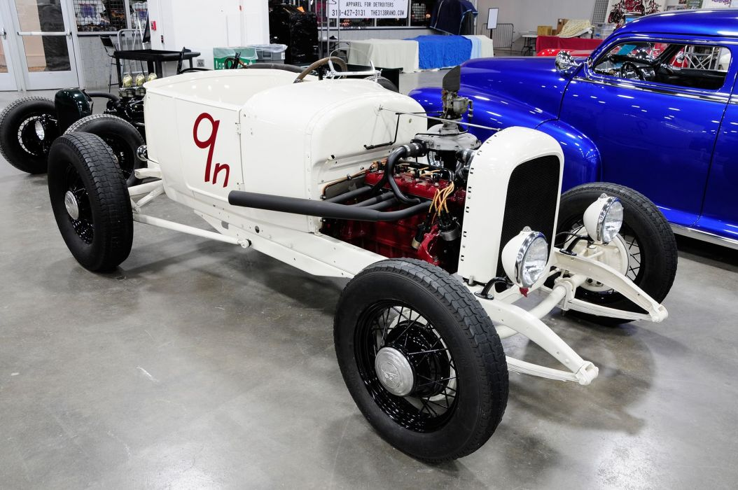 1926 Ford Modified Roadster Hotrod Hot Rod Old School USA 2048x1360-01 wallpaper