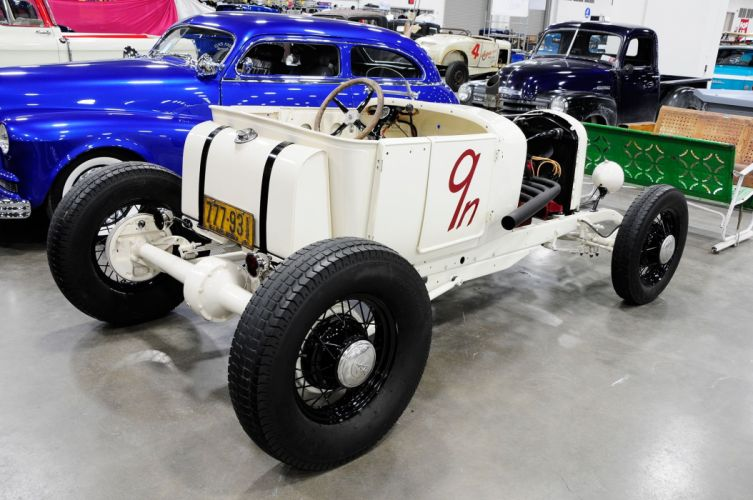 1926 Ford Modified Roadster Hotrod Hot Rod Old School USA 2048x1360-02 wallpaper